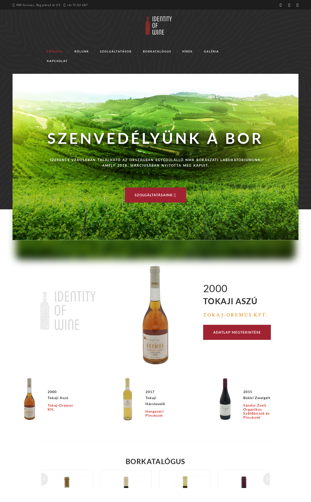 Identity Of Wine Kft. - IT-Mind KFT - referencia