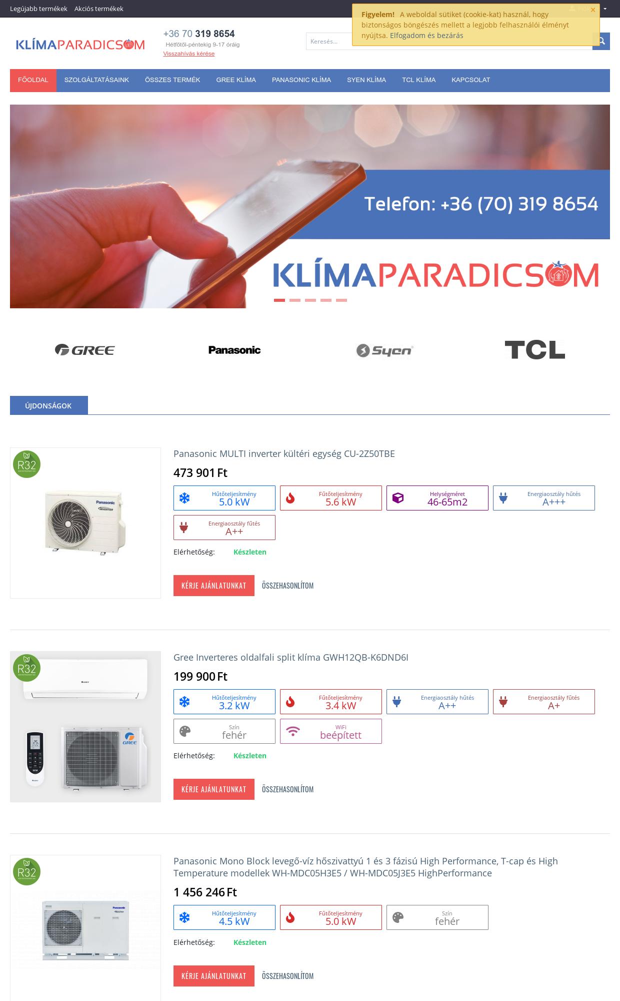 Klímaparadicsom - IT-Mind KFT - referencia